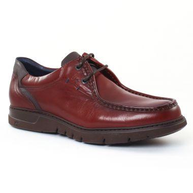 Chaussures Basses À Lacets Fluchos 9595 Marron, vue principale de la chaussure homme