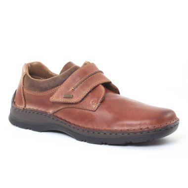 Chaussures Basses À Lacets Rieker 05358 Marron, vue principale de la chaussure homme