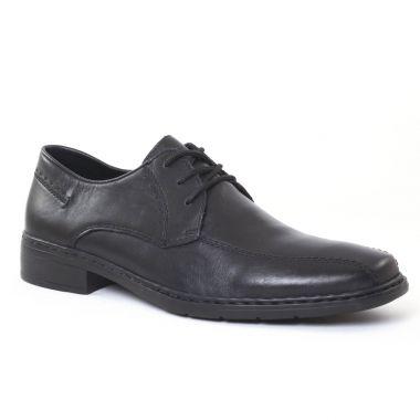 Chaussures Basses À Lacets Rieker 10802 Noir, vue principale de la chaussure homme
