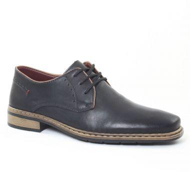 Chaussures Basses À Lacets Rieker 10822 Noir, vue principale de la chaussure homme