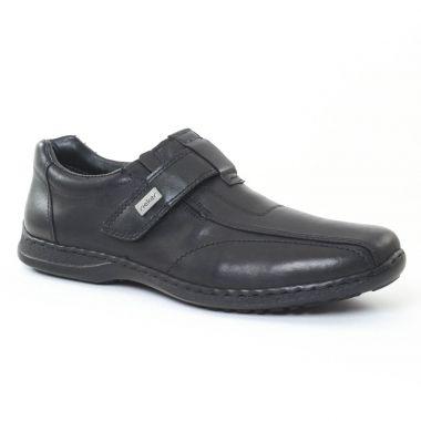 Mocassins Et Bateaux Rieker 04763 Schwarz, vue principale de la chaussure homme