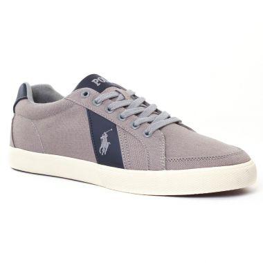 Tennis Polo Ralph Lauren Handford y0740 gris, vue principale de la chaussure homme