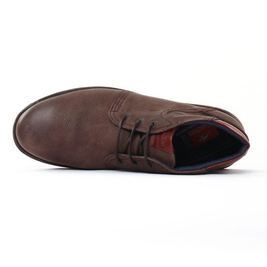 Fluchos 9229 Cafe | boots marron automne hiver chez TROIS PAR 3
