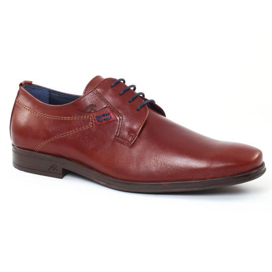 Chaussures Basses À Lacets Fluchos 9488 Libano, vue principale de la chaussure homme