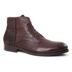 chaussures-montantes marron: même style de chaussures en ligne pour hommes que les Fluchos