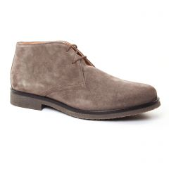 Chaussures homme hiver 2017 - bottines Chukka Geox Homme beige taupe