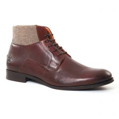 Chaussures homme hiver 2017 - chaussures montantes Kost marron