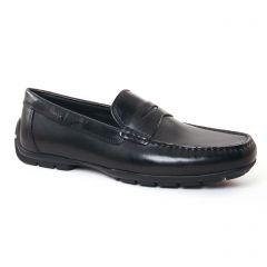 mocassins noir: même style de chaussures en ligne pour hommes que les Geox Homme