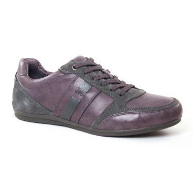 Tennis Geox Houston Grey, vue principale de la chaussure homme