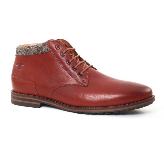 Chaussures Montantes Kost Buletier 6 Brique, vue principale de la chaussure homme