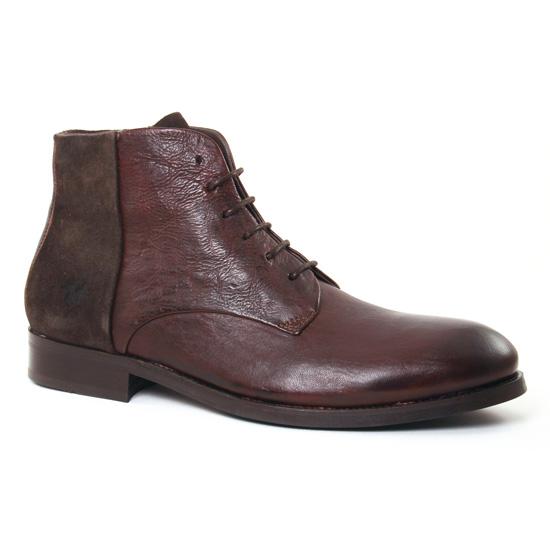 Chaussures Montantes Kost Moder Chataigne, vue principale de la chaussure homme