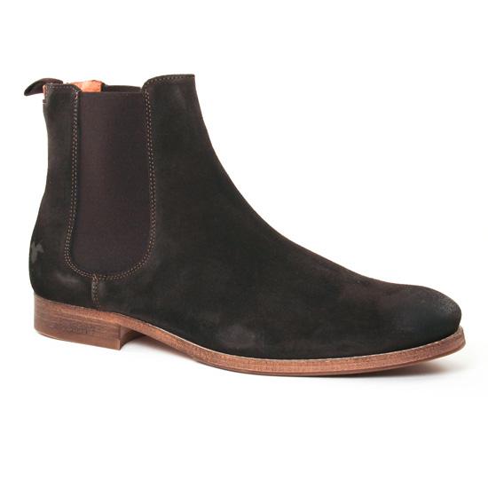 Chaussures Montantes Kost Ramel 5 Chataigne, vue principale de la chaussure homme
