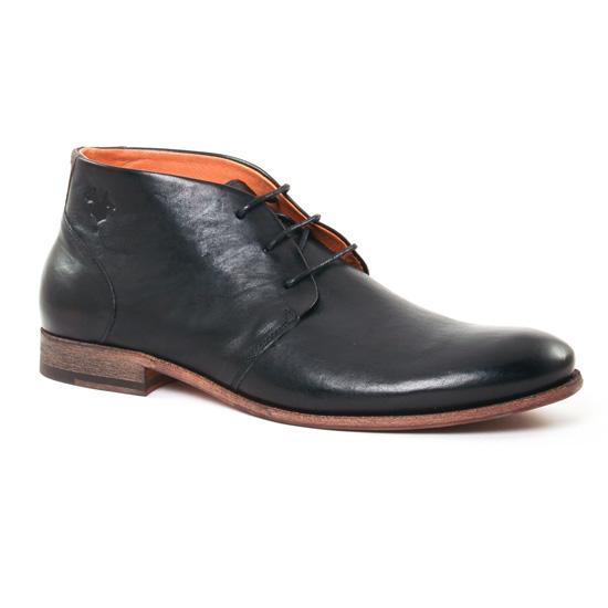 Chaussures Montantes Kost Sarre 1 Noir, vue principale de la chaussure homme