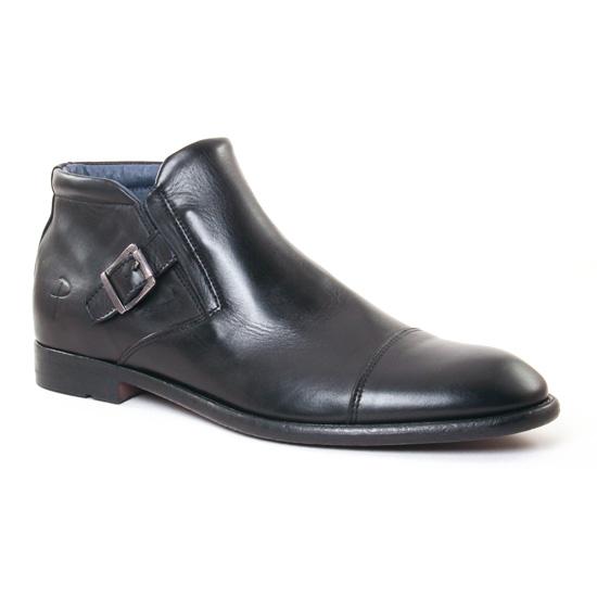 Chaussures Montantes Paratonnerre 2233 Noir, vue principale de la chaussure homme