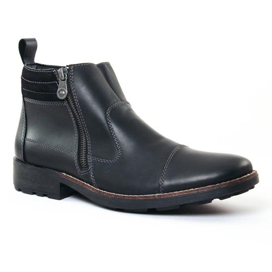Chaussures Montantes Rieker 36051 Noir, vue principale de la chaussure homme