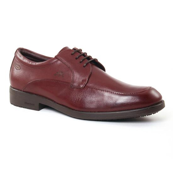 Chaussures Basses À Lacets Fluchos 9278 Castano, vue principale de la chaussure homme