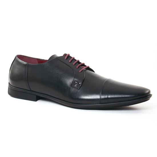 Chaussures Basses À Lacets Le Formier Kalten 45 Noir, vue principale de la chaussure homme