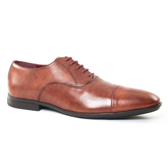 Chaussures Basses À Lacets Le Formier Rawle 45 Marron, vue principale de la chaussure homme
