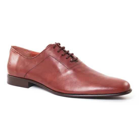Chaussures Basses À Lacets Paratonnerre 1971 Cognac, vue principale de la chaussure homme