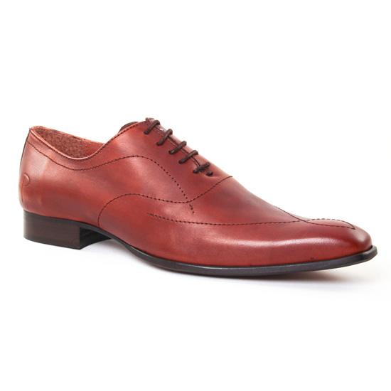 Chaussures Basses À Lacets Paratonnerre 2010 Cognac, vue principale de la chaussure homme