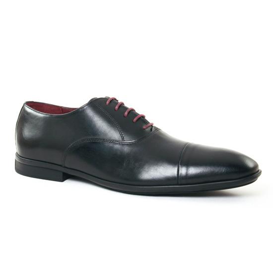 Chaussures Basses À Lacets Le Formier Rawle 45 Noir, vue principale de la chaussure homme