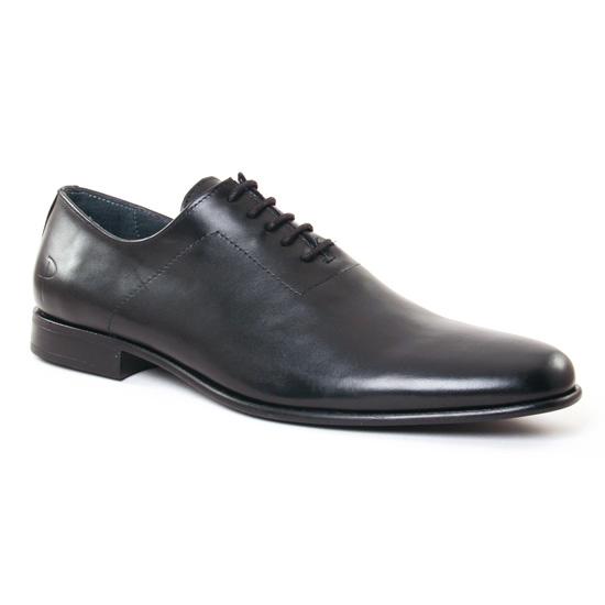 Chaussures Basses À Lacets Paratonnerre 1971 Noir, vue principale de la chaussure homme