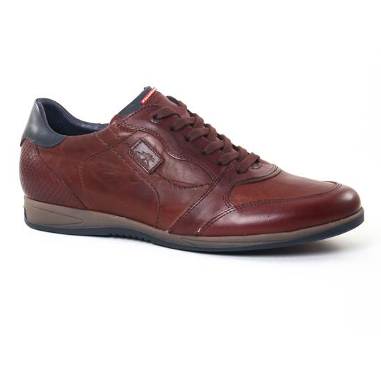 Tennis Fluchos 9261 Castano, vue principale de la chaussure homme