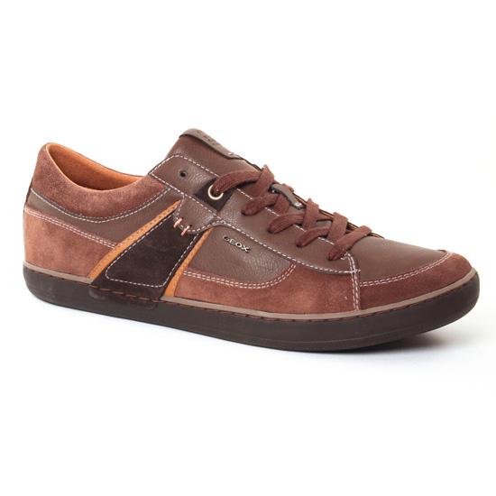 Tennis Geox Box Cigare, vue principale de la chaussure homme