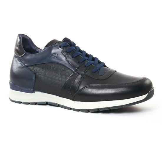 Tennis Fluchos 9813 Noir, vue principale de la chaussure homme