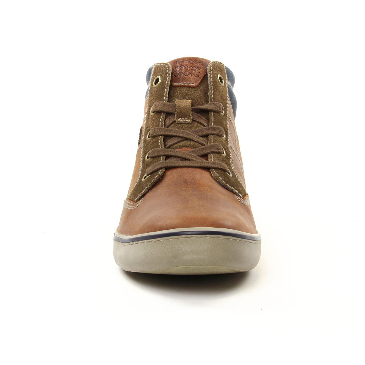 Marron U74r3c Hiver Automne CottoChaussure Brown Geox Montantes LUpMVqSzG