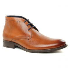 Chaussures homme hiver 2018 - bottines Chukka Fluchos marron