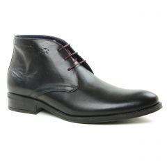 Chaussures homme hiver 2018 - bottines Chukka Fluchos noir