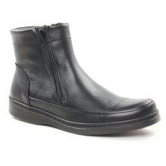 Chaussures homme hiver 2018 - boots yann bolligen noir
