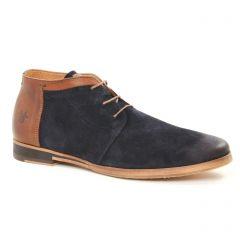 Chaussures homme hiver 2018 - bottines Chukka Kost bleu marron
