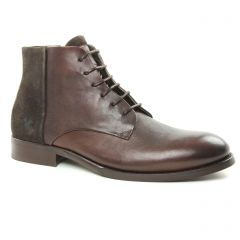Chaussures homme hiver 2018 - chaussures montantes Kost marron