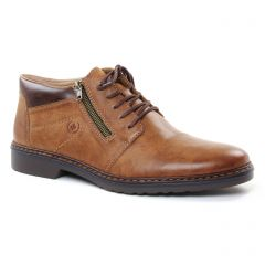 Chaussures homme hiver 2018 - bottines Chukka rieker marron