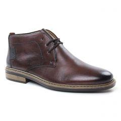 bottines-chukka marron: même style de chaussures en ligne pour hommes que les Rieker
