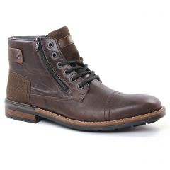 Chaussures homme hiver 2018 - chaussures montantes rieker marron