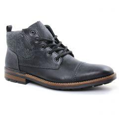 Chaussures homme hiver 2018 - bottines Chukka rieker noir gris