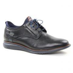 Chaussures homme hiver 2018 - derbys Fluchos noir bleu