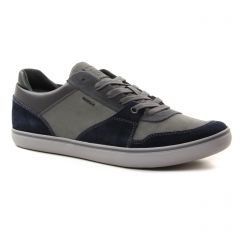 Chaussures homme hiver 2018 - tennis Geox Homme bleu gris