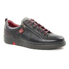 tennis gris noir: même style de chaussures en ligne pour hommes que les Fluchos