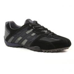tennis noir: même style de chaussures en ligne pour hommes que les Geox Homme