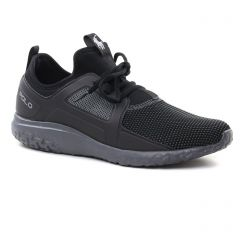 tennis noir gris: même style de chaussures en ligne pour hommes que les Geox Homme