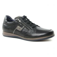 tennis noir taupe: même style de chaussures en ligne pour hommes que les Fluchos