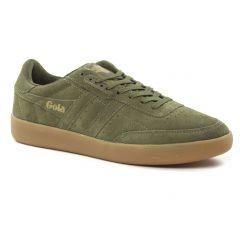 tennis vert kaki: même style de chaussures en ligne pour hommes que les Geox Homme