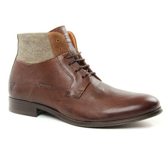 Chaussures Montantes Kost Criol Marron, vue principale de la chaussure homme
