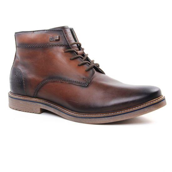 Chaussures Montantes Bugatti 60933 Brown, vue principale de la chaussure homme