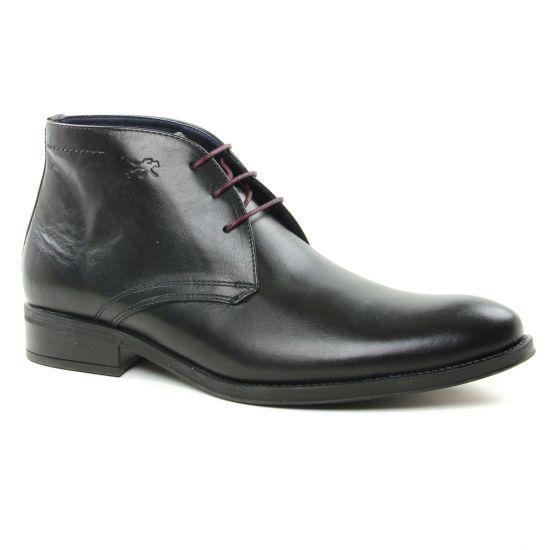 Chaussures Montantes Fluchos 8415 Negro, vue principale de la chaussure homme