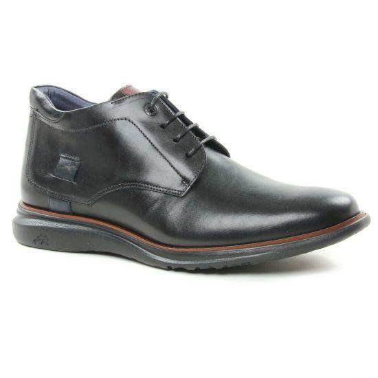 Chaussures Montantes Fluchos F0206 Egro Marino Burdeo, vue principale de la chaussure homme